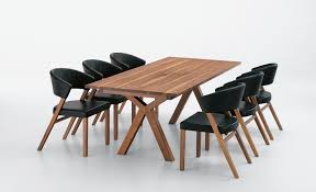 solid wood dining room sets spacious dining tables astonishing modern wood table designs large
