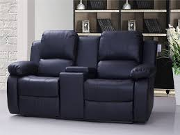 White Recliner Sofa Recliners Chairs Sofa Black Leather Reclining Sofa With Seater
