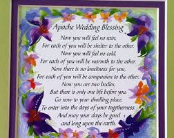 sayings for and groom apache wedding blessing 8x10 inspirational quote groom