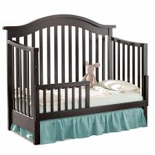 Stratford Convertible Crib Baby Appleseed Stratford Toddler Rails In Espresso Free Shipping