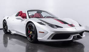 ferrari coupe ferrari 458 spider last naturally aspirated convertible from