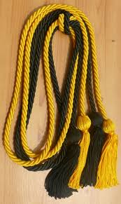 graduation cord gold and black cord cords honor cords from