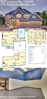 Indoor sports court home plans Home plan