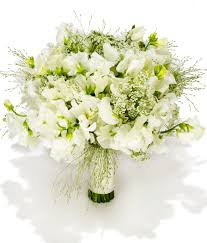 green wedding bouquets beach wedding flowers white green ivory