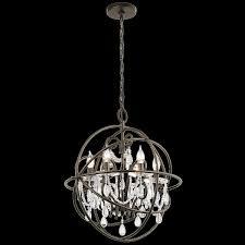 Glass Sphere Pendant Light Chandelier Sphere Chandelier Glass Globe Chandelier Orb Pendant