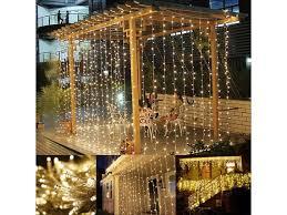 300 led 9 ft x 9 ft window curtain lights string light
