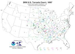 Illinois Tornado Map by Tornadoes Of 2008 Wikipedia