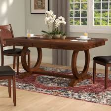 high end dining room tables world menagerie kapoor extendable dining table reviews wayfair