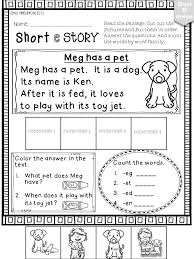 short e phonics worksheets and activities no prep short vowels