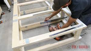 How To Build A Bed Frame With Storage Diy Daybed With Storage Drawers Size Bed Fixthisbuildthat