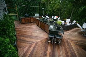 outdoor kitchen 3 contemporary deck atlanta by cabinets