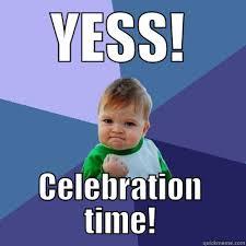 Celebration Meme - copycraft s end celebration