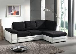 salon canapé noir salon moderne noir et blanc