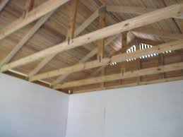 exposed roof trusses home planning ideas 2017