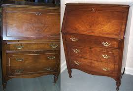 Secretary Desk With Drawers by Secretary Desk We Were Chosen By A Bayside Customer To Restore
