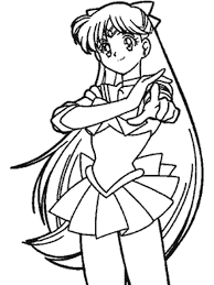 sailor moon coloring book pages kids coloring