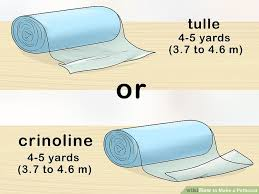 how to make a petticoat 4 easy ways to make a petticoat with pictures wikihow