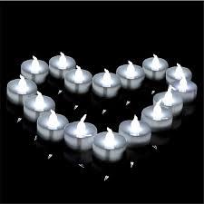 led tea lights battery life 12 pieces warm white tea lights bulk flameless candle light yellow