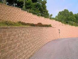 segmental retaining walls the concrete network the concrete