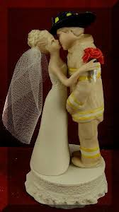 fireman wedding cake toppers firefighter wedding cake toppers the wedding specialiststhe