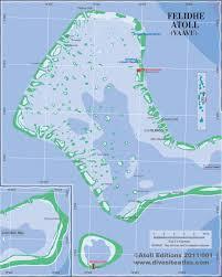 Map Of Maldives Felidhe Atoll Vaavu Maldives Atolls