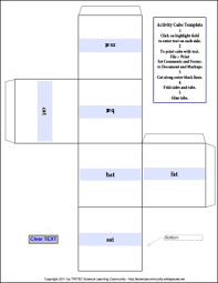 activity cube template adobe education exchange