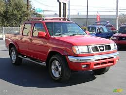 nissan 2000 2000 aztec red nissan frontier se crew cab 4x4 57695128 photo 3
