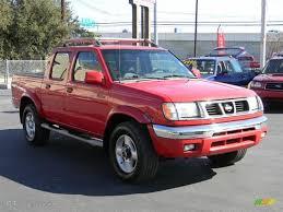2000 aztec red nissan frontier se crew cab 4x4 57695128 photo 3