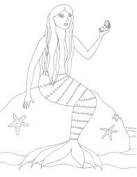 mermaid to color virtren com