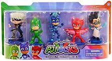 play pj masks collectible figure catboy owlette gekko