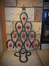 horseshoe christmas tree rustic horseshoe christmas tree back home country acres