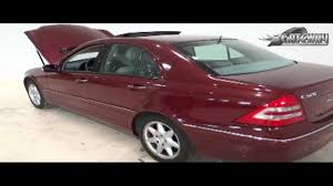 2001 mercedes benz c320 youtube