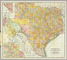 Rand Mcnally World Map by Mcnally Railroad And County Map Of Texas Rand Mcnally And