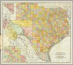 Railroad Map Of Usa by Mcnally Railroad And County Map Of Texas Rand Mcnally And