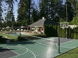 Backyard Sports Court by 15 Best Sport Court Images On Pinterest Backyard Ideas Backyard