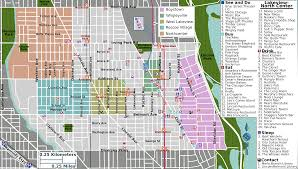 Boystown Chicago Map by Downtown Chicago Map Pdf U2013 Swimnova Com