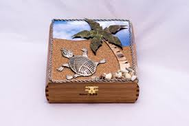 themed jewelry box turtle jewelry turtle gift memory box wood box jewelry