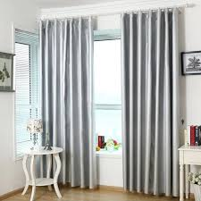Light Silver Curtains Silver Light Absorption And Heath Insulation Thermal Blackout