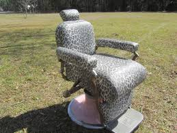Vintage Recliner Chair Vintage Barber Chairbarber Chair Hair Salon Furniture Retro