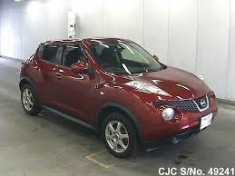 nissan juke red 2010 nissan juke red for sale stock no 49241 japanese used