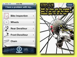 bike app android bike repair app for iphone and android all seasons cyclist
