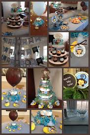 interior design baby shower decorations monkey theme boy