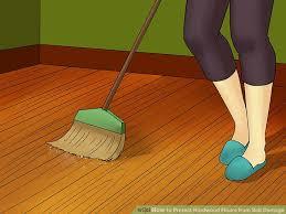 Hardwood Floor Broom How To Protect Hardwood Floors From Salt Damage 8 Steps
