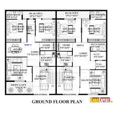 House Plans With Attached Garage Architectures Foursquare House Plans Classic Foursquare House