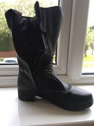 ladies motorbike boots ladies motorcycle boots size 42 in marple manchester gumtree