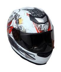 thh motocross helmet thh ts 41 white red prince full face helmets white m buy thh ts
