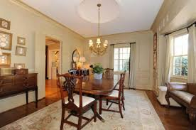 The ColonialStyle House From Life As We Know It - Colonial dining rooms
