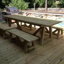 Make Outdoor Picnic Table by 19 Best Picnic Table Ideas Images On Pinterest Home Painted