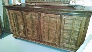 Shutter Door Cabinet Revival Home Cabinets