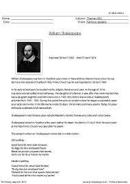 albert einstein biography ks2 william shakespeare comprehension primaryleap co uk